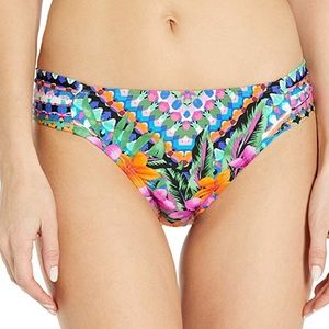 NWT Kenneth Cole Reaction Bright Hipster Bikini S